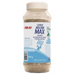 Suprem'Absorb Max absorbant désodorisant Parfum eucalyptus 670g ORLAV