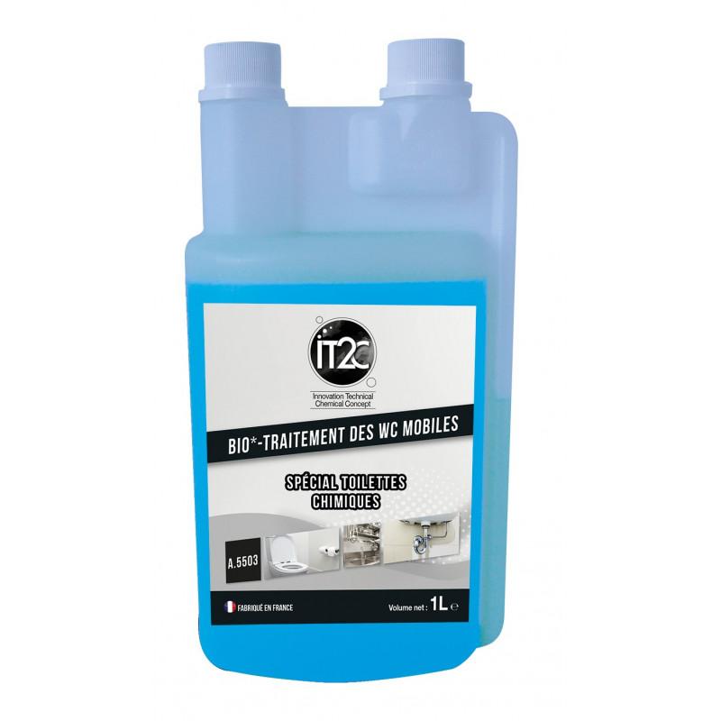 Traitement des WC chimiques Bio nettoyant IT2C Flacon doseur 1L