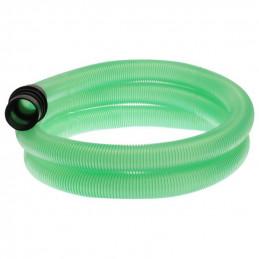 Flexible complet transparent vert 2.5m pour aspirateur ICA GC 1/35