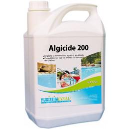 Algicide piscine 200 curatif préventif professionnel 5L PURISSIMEAU