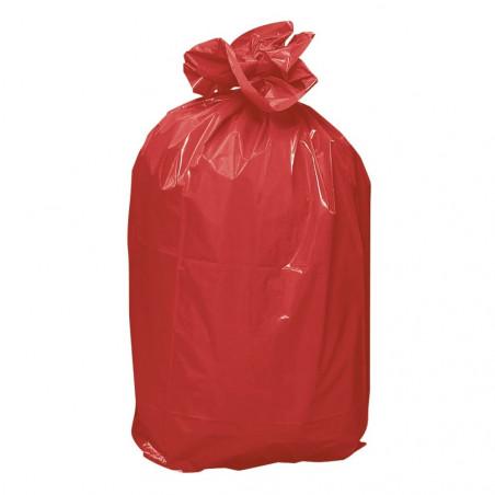 Sac poubelle Rouge 50L 13 microns