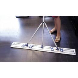 Support bandeau neutre velcro Alu 120cm