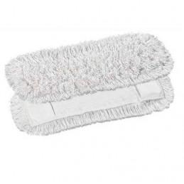 Frange coton à poche pour monture balai 80cm