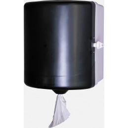 Distributeur bobine essuie-mains à dévidage central Noir Prodifa