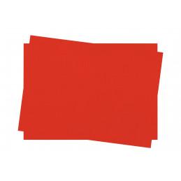 Set de table en papier couleur rouge 30x40 Lot de 250 INFIBRA
