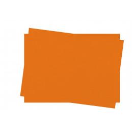 Set de table en papier couleur orange 30x40 Lot de 250 INFIBRA