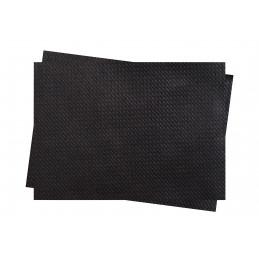 Set de table en papier couleur noir 30x40 Lot de 250 INFIBRA
