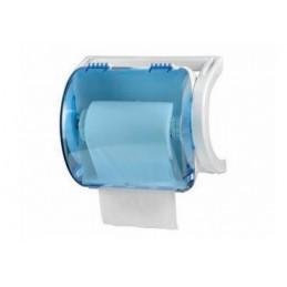 Distributeur bobine essuie-mains ROLLOUT ABS Bleu transparent