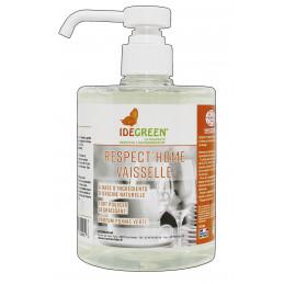 Liquide vaisselle pomme verte IDEGREEN 500ml ECOCERT