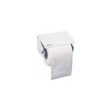Distributeur papier toilette à rouleaux métal blanc AXOS