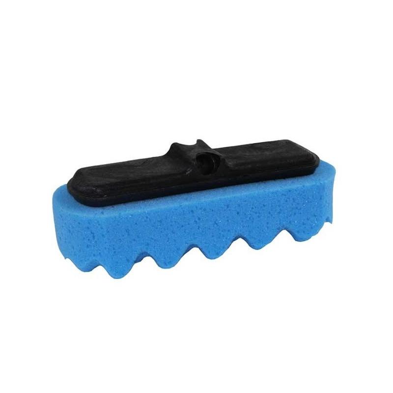 Brosse Eponge de lavage surface vague