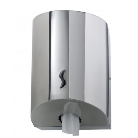 Distributeur d'essuie-mains à dévidage central 450F Inox 304 Brillant