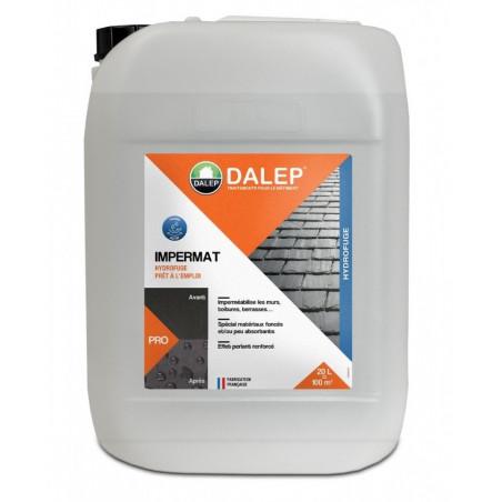 Impermat Hydrofuge Oléofuge spécial matériaux foncés DALEP 20L