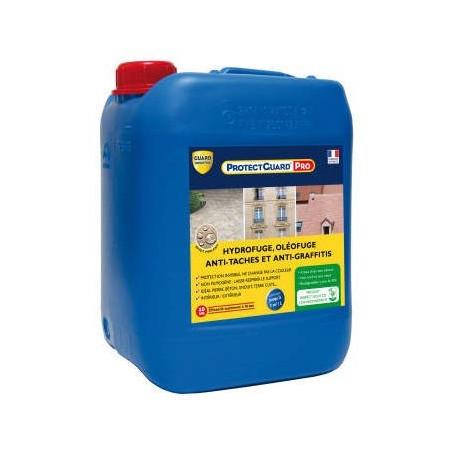 Hydrofuge anti taches anti graffiti PROTECTGUARD PRO GUARD INDUSTRIE 5L