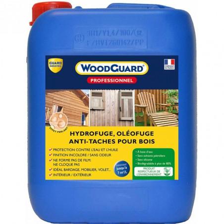 Hydrofuge bois WoodGuard Pro GUARD INDUSTRIE