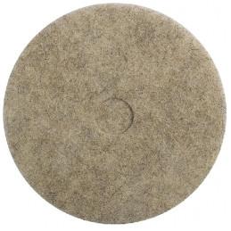 Disque Pad fibre naturelle cristallisation marbre D430mm 17''