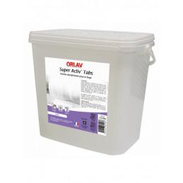 Pastille lave-linge désinfectante 3,125Kg Super Activ'Tabs ORLAV