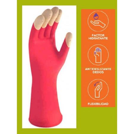 Gant de ménage au extrait de karité flexibilité maxi Taille L