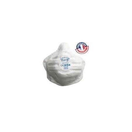 Masque sans valve FFP2