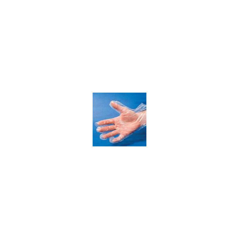 Gant polyéthylène transparent