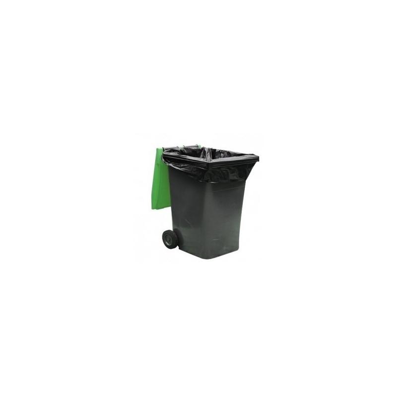 Housse conteneur 340 L Noir