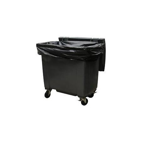 Housse conteneur 1100 L Noir