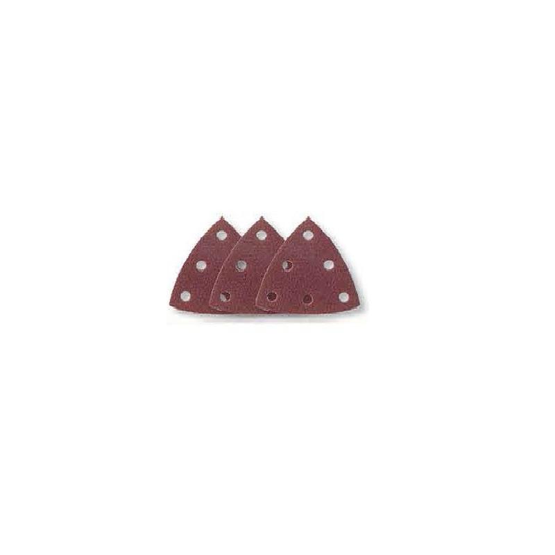 Triange abrasif velcro perforé